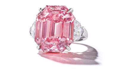 'Pink Legacy' Diamond Sells for $50M, Setting Per-Carat Price Record