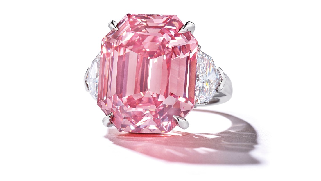 The Diamond Was Immediately Renamed The Winston Pink Legacy By Its New Owner