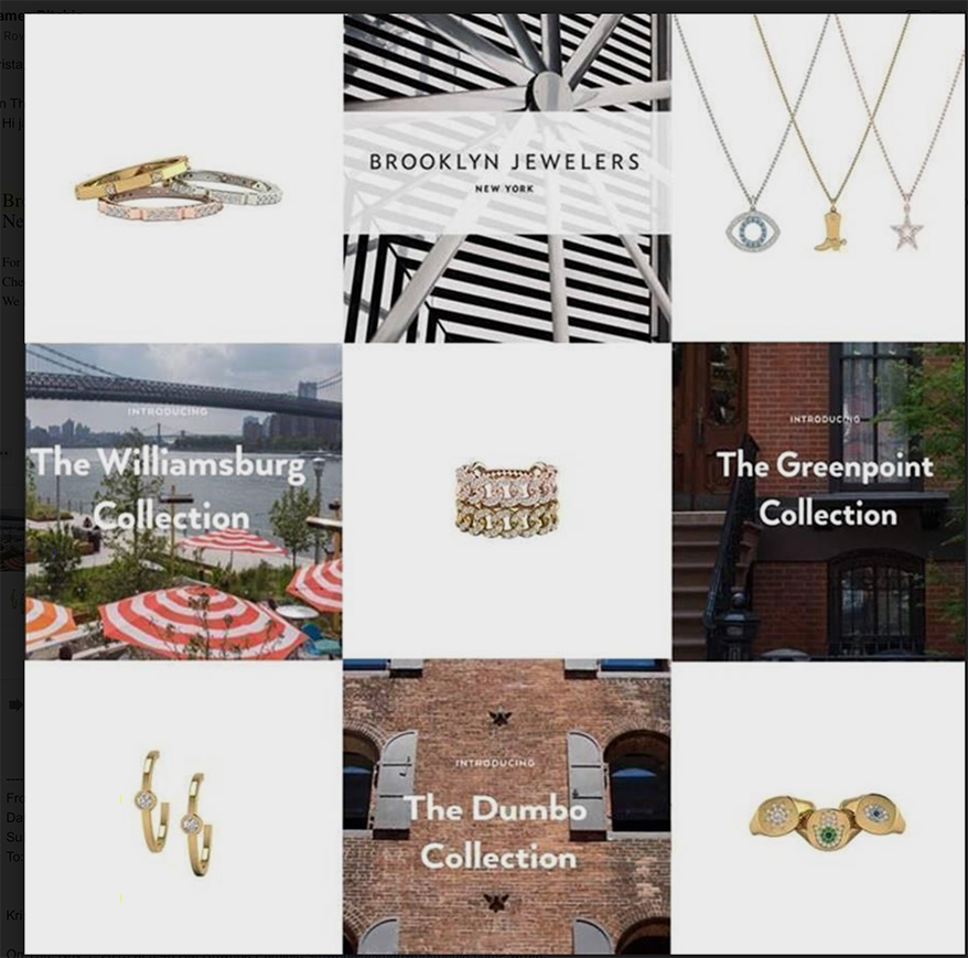 Brooklyn Jewelers Launches The Neighborhood Collection