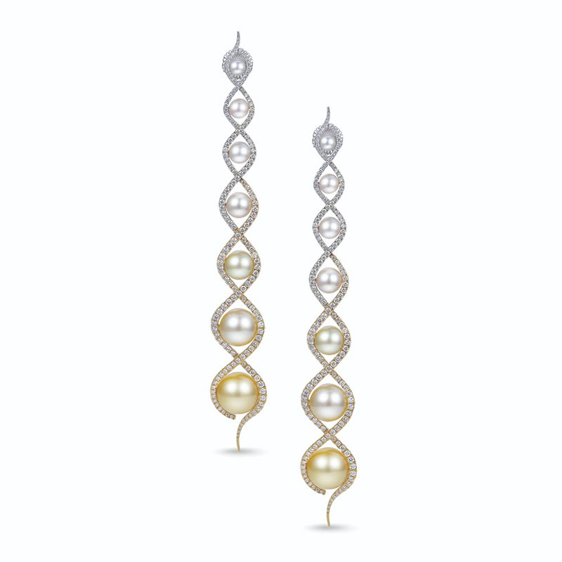 California Designer's Elegant Earrings Win President's Trophy at Top Pearl Competition … and More Award Winners