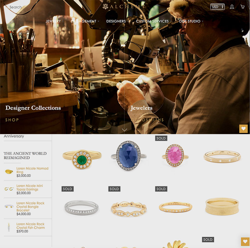 6 Websites Setting a High Bar for Jewelry Retail