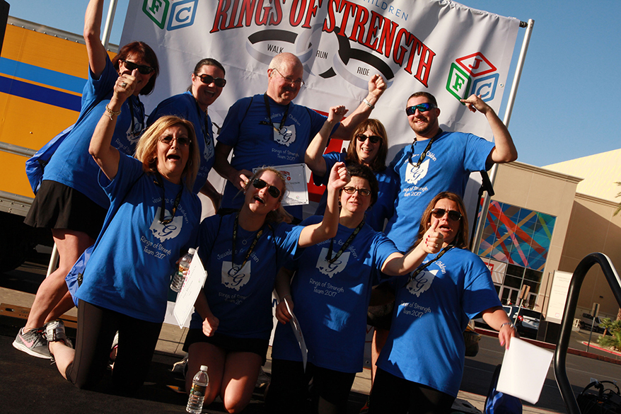 Jewelers for Children Celebrates Rings of Strength