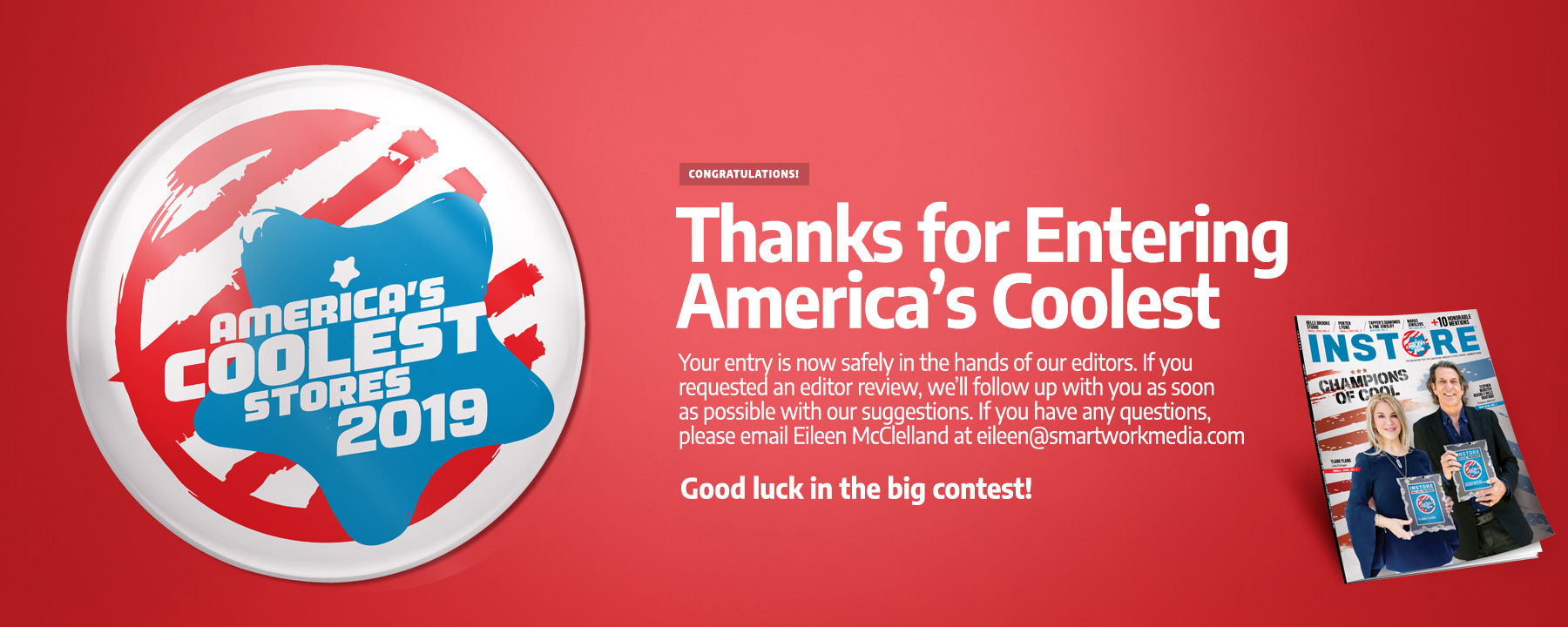 America's Coolest Thank You Page 2019