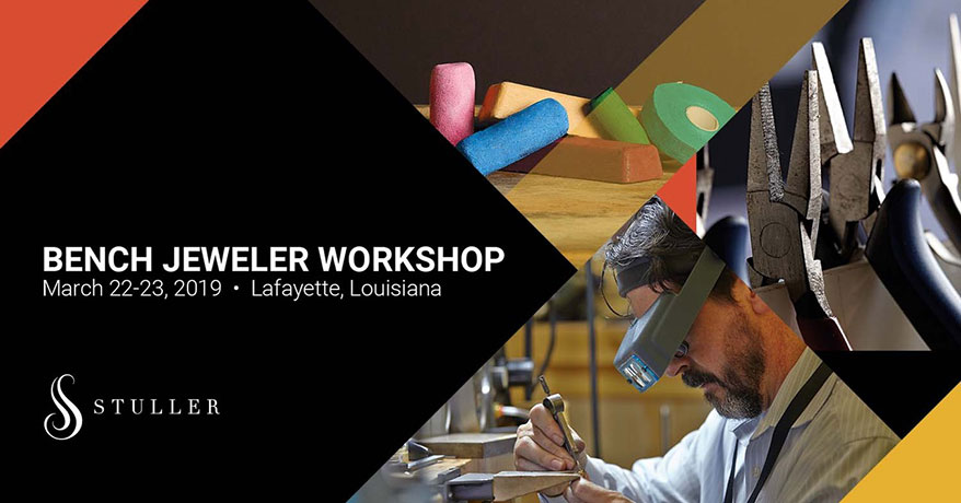 Stuller Announces 2019 Annual Bench Jeweler Workshop