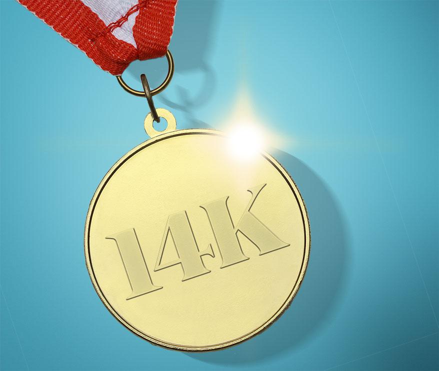 Want a Golden Opportunity? Sponsor a 14K Run