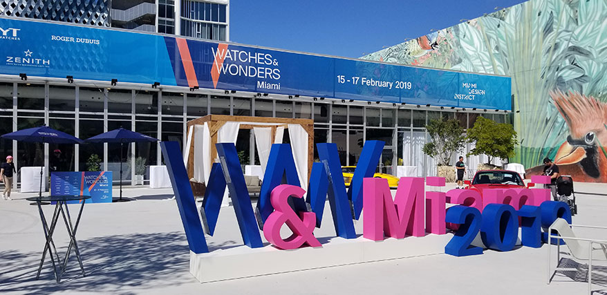 Sophomore Edition of Watches & Wonders Miami Draws 28,000
