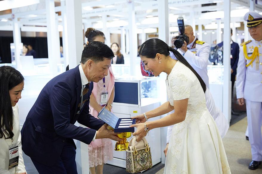 Her Royal Highness Princess Sirivannavari Nariratana Presides Over the Opening of the 63rd Bangkok Gems & Jewelry Fair