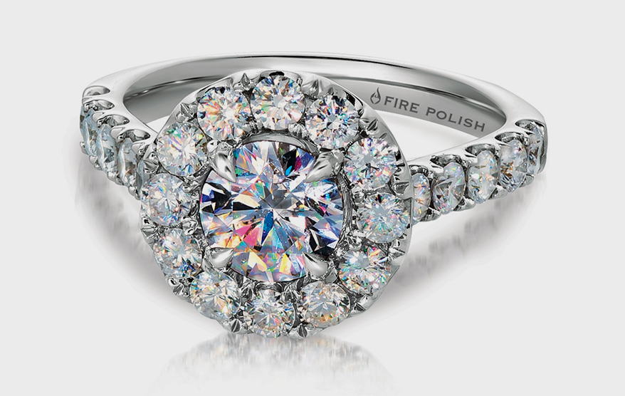 "Luxury Diamond Brand ""Fire Polish"" Expands  Engagement Line"