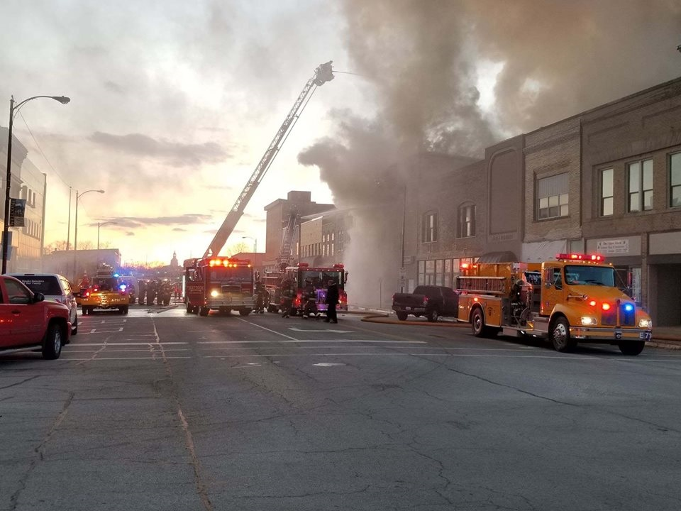 Jewelry Store Damaged by Fire