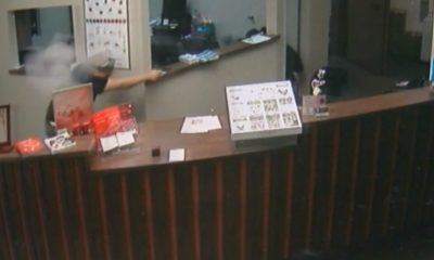 Video Shows Shootout with Jewelry Store Robbers