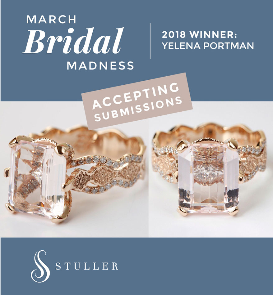 9ab391fe0 Stuller Now Accepting Bridal Designs for Annual Competition ...