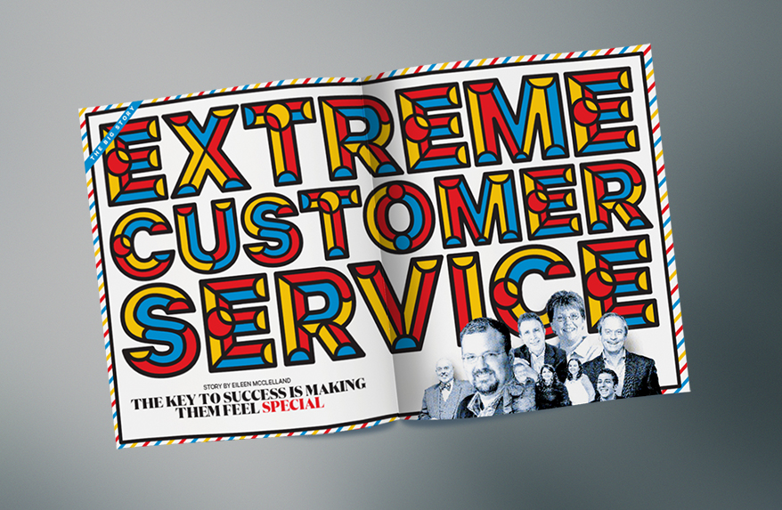 On Extreme Customer Service, Here Are Your Thoughts