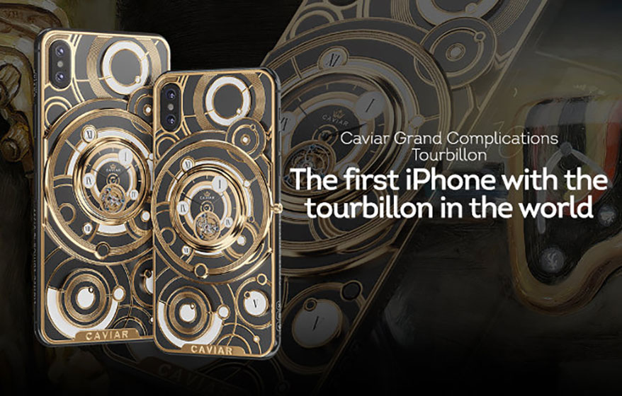 The First iPhone with a Tourbillon in the World Was Created
