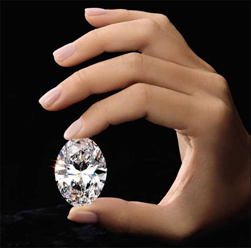 Perfect 88 Carat Diamond Goes Up For Auction Instoremag Com