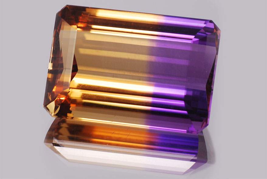 Gem Quiz: Yellow and Purple Never Looked So Good Together