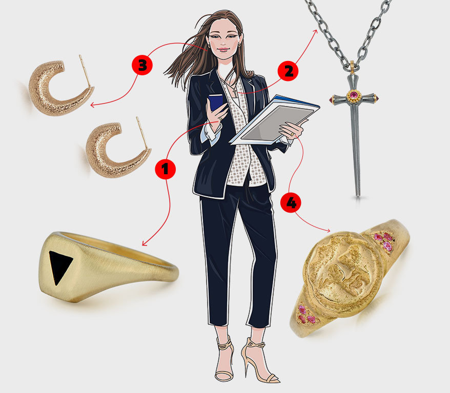 This Fierce Female Client Type Wants Jewelry As Powerful As She Is