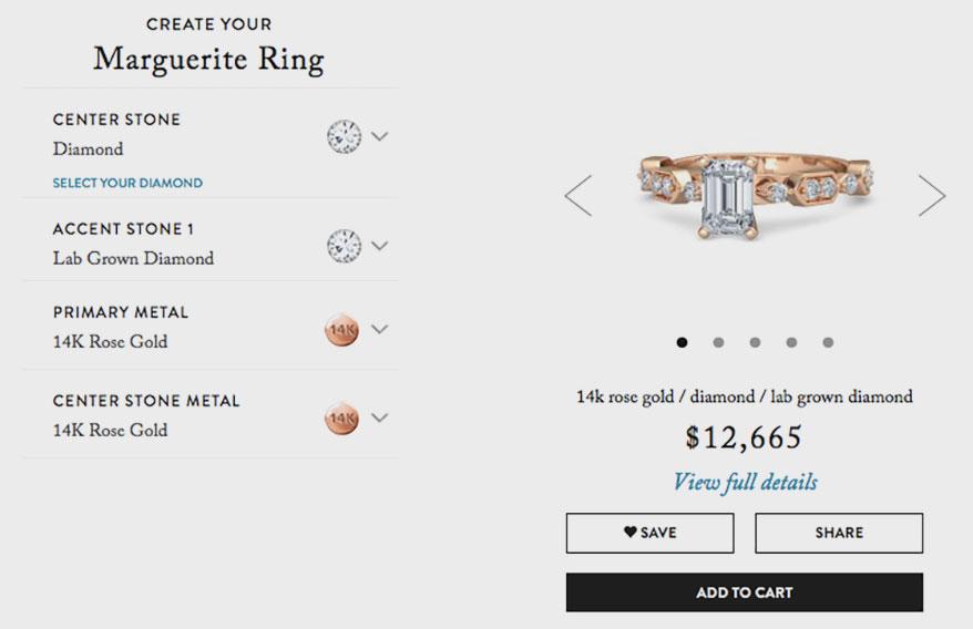 Gemvara Brings Lab Grown Diamonds and Gemstones to Customized Jewelry