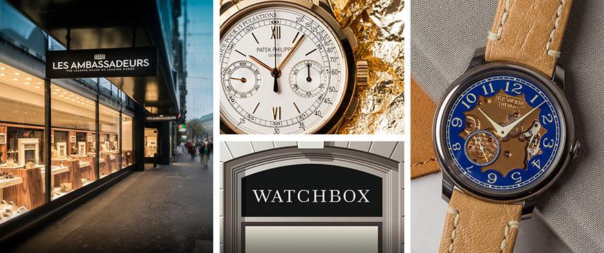 WatchBox Partners with Les Ambassadeurs
