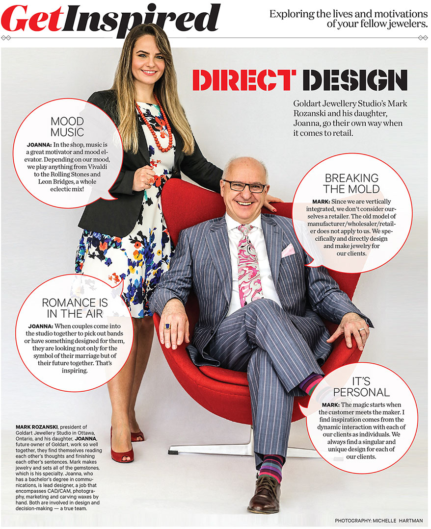 Father-Daughter Team Thrives on Creativity in Ottawa - InstoreMag com