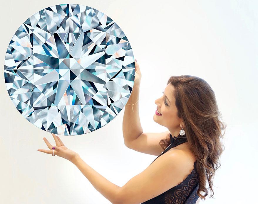 Artist Reena Ahluwalia Donates 'Hope', Her Artwork for Jewelers for Children