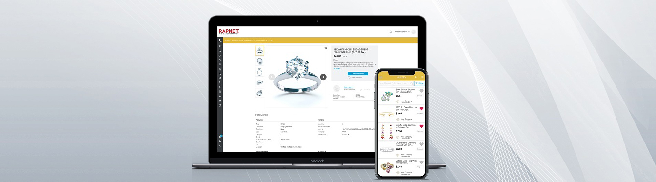 As Online Grows, RapNet Offers the Ultimate Jewelry Trading Platform