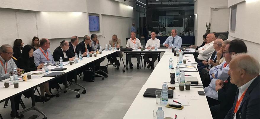 WFDB Executive Committee Debates Vital Industry Topics at Israel Diamond Exchange Meeting