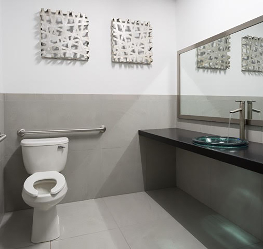 These Jewelry Stores Extend the Design Concept Into the Restroom