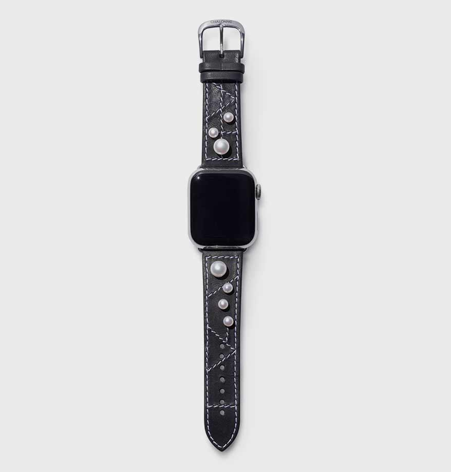 A Luxury Watch Strap for Apple Watches, A Patented Ring That Won't Spin and More Opening Lines for August