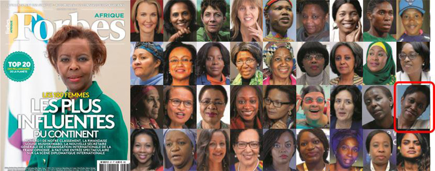 Forbes Afrique Names WDC Executive Director One of Africa's 100 Most Influential Women