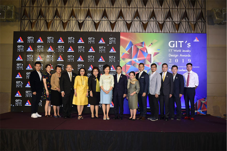 GIT Is Hosting GIT's 13th World Jewelry Design Award and Challenge Gems Faceting Master 2019