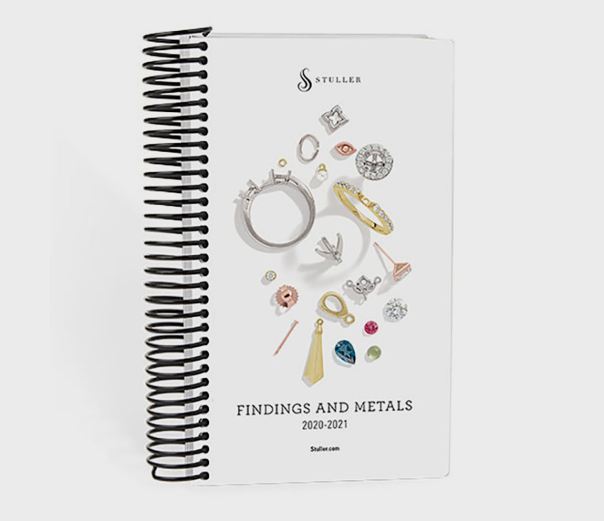 Stuller Introduces New Findings and Metals Catalog