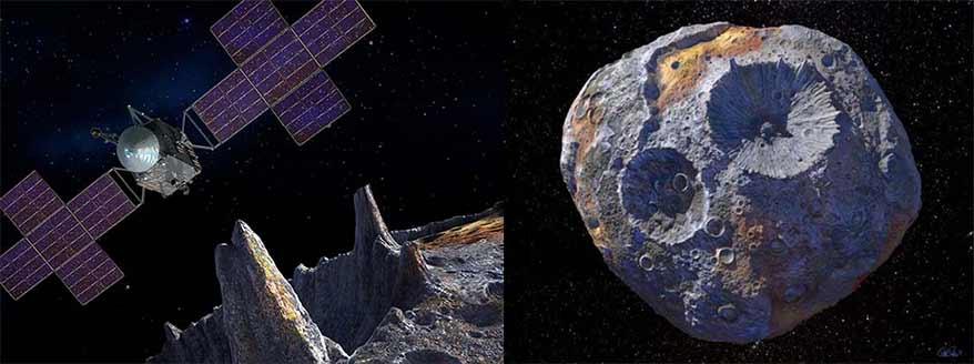 NASA to Explore Asteroid Containing Precious Metals Worth $10,000 Quadrillion