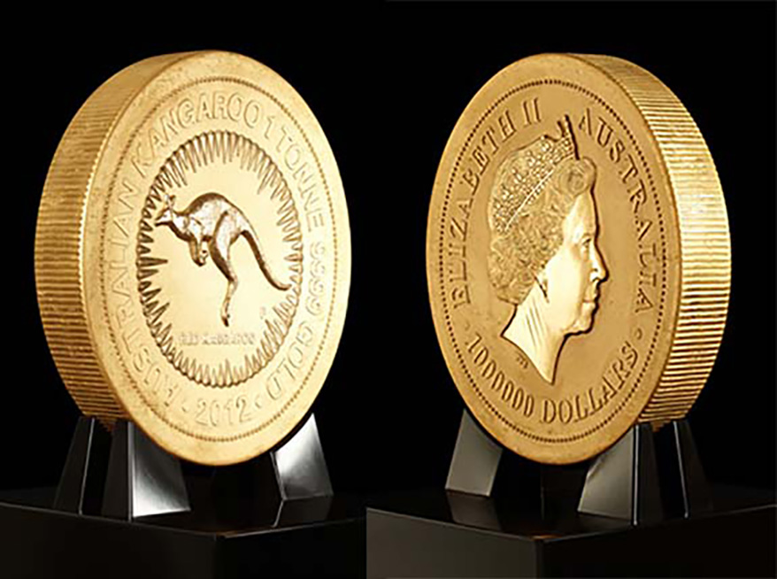 World's Biggest, Heaviest and Most Valuable Coin to Make US Debut