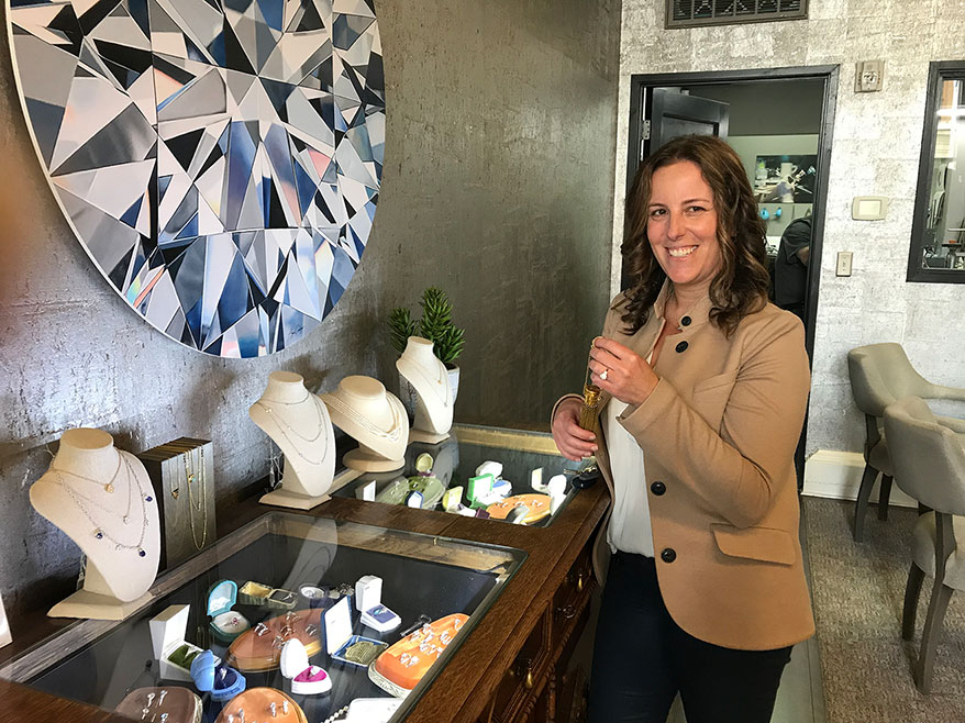 Perfecting the No-Pressure Engagement Ring Sale at Portland's Malka Diamonds & Jewelry