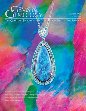 Vibrant Gemstones Make a Splash in Gems & Gemology