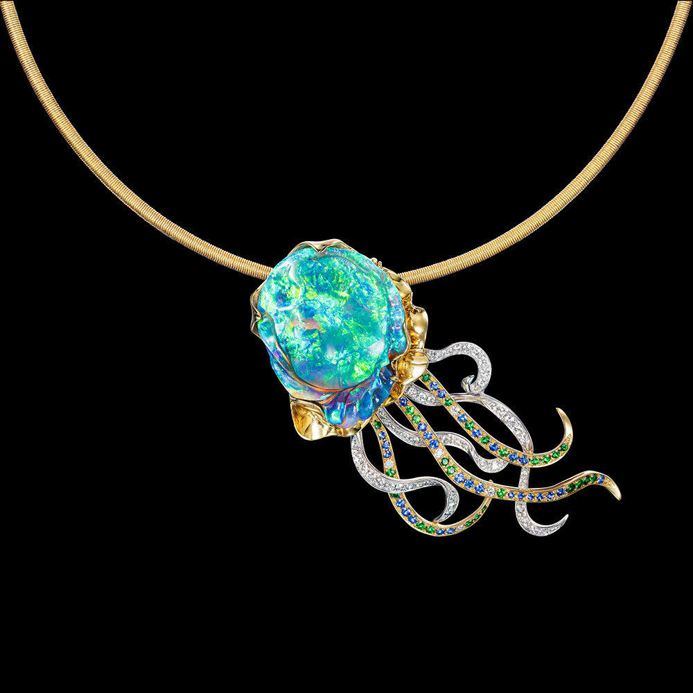 Paloma Sanchez Takes Top Prize in Opal Jewelry Design Competition … Plus More Award Winners