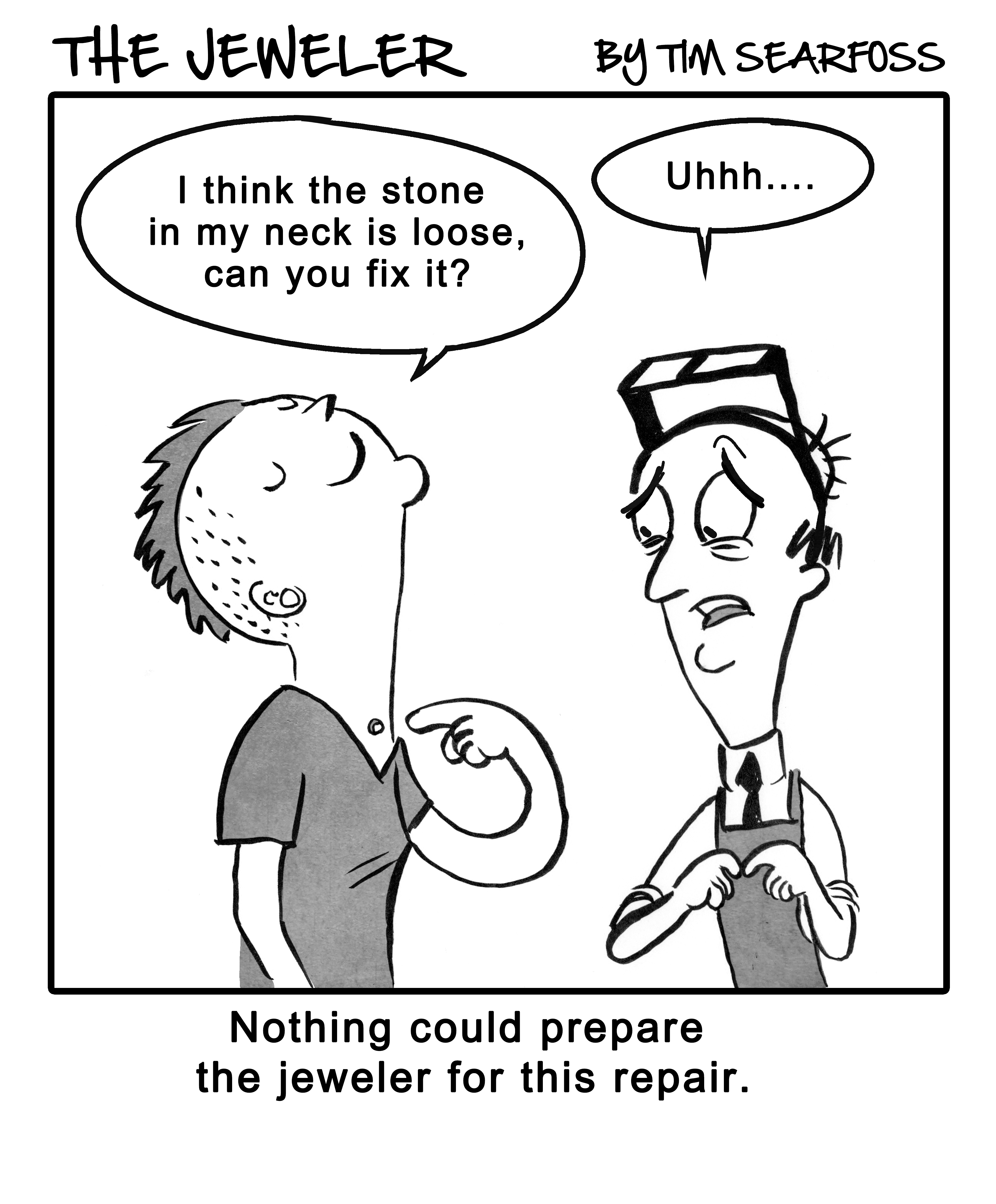 Cartoon: The Jeweler's Job Is Changing with the Times