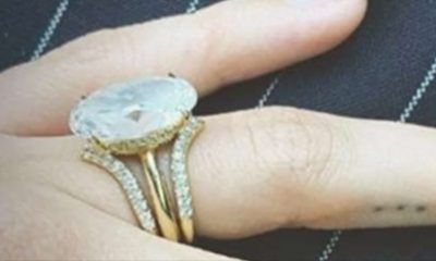 HEADLINESHailey Baldwin Shows Off New Wedding Ring Set with Justin Bieber