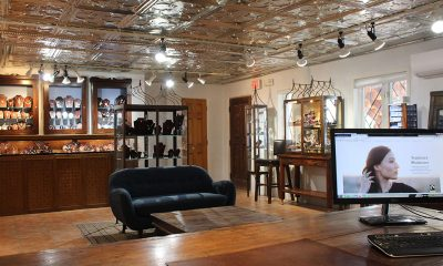 Santa Fe's Reflective Jewelry Aligns with Owners' Ethics