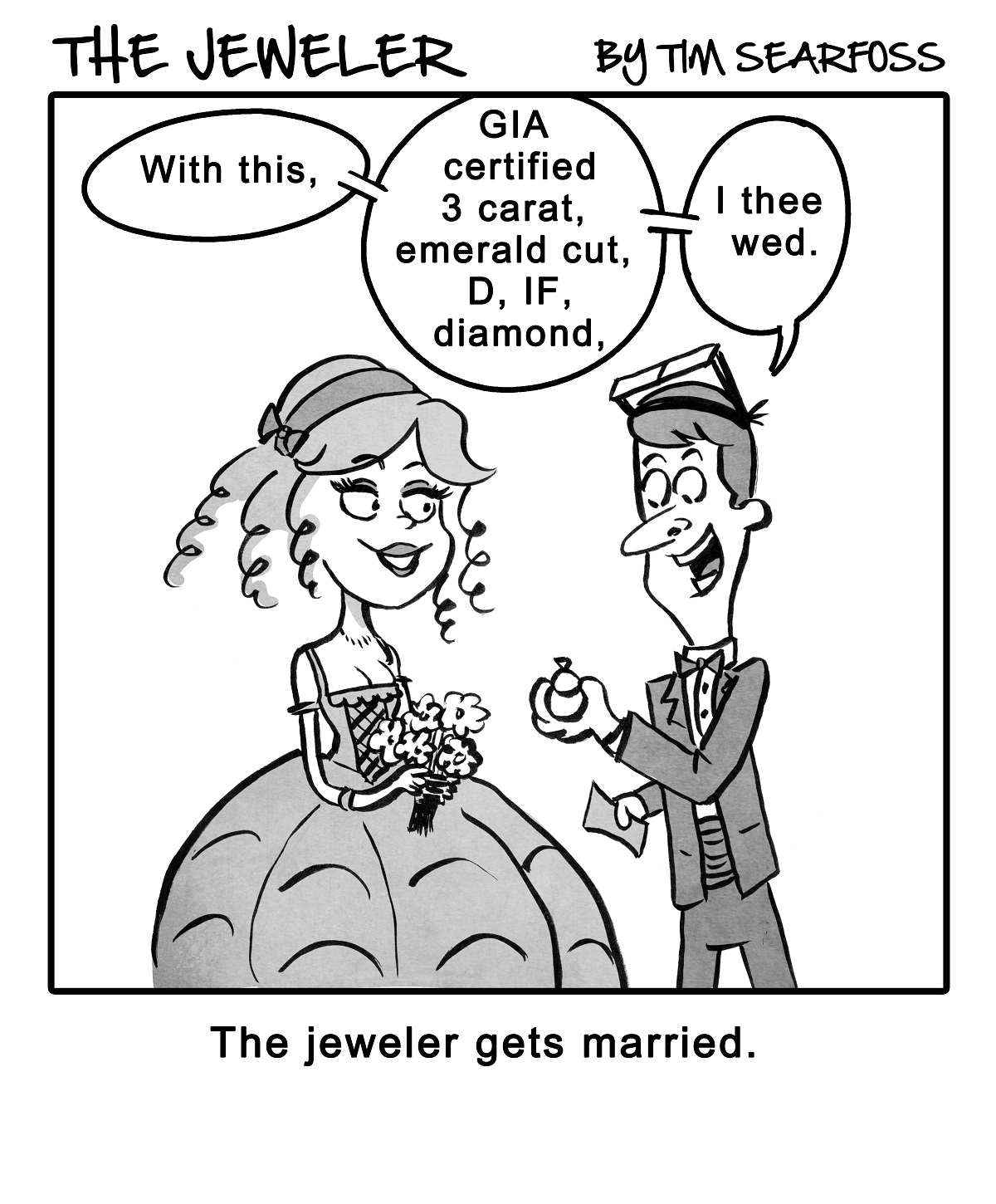 Cartoon Symbols Have Their Own Meanings For The Jeweler