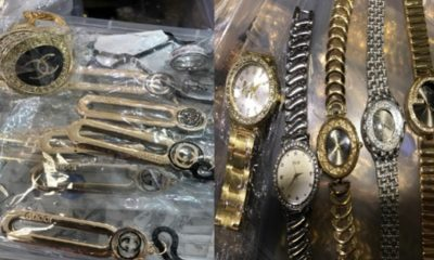 Jewelry Distributor Arrested With $15M in Counterfeit Goods, Police Say