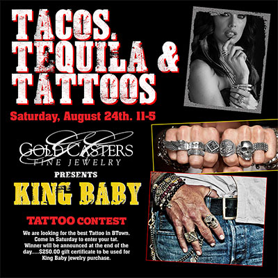 Tacos, Tequila and Tattoos: Gold Casters' Contest Draws a Diverse Crowd in Bloomington, IN