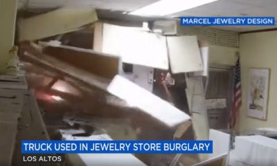 Truck Slams Jewelry Store in $200,000 Burglary — Watch the Video
