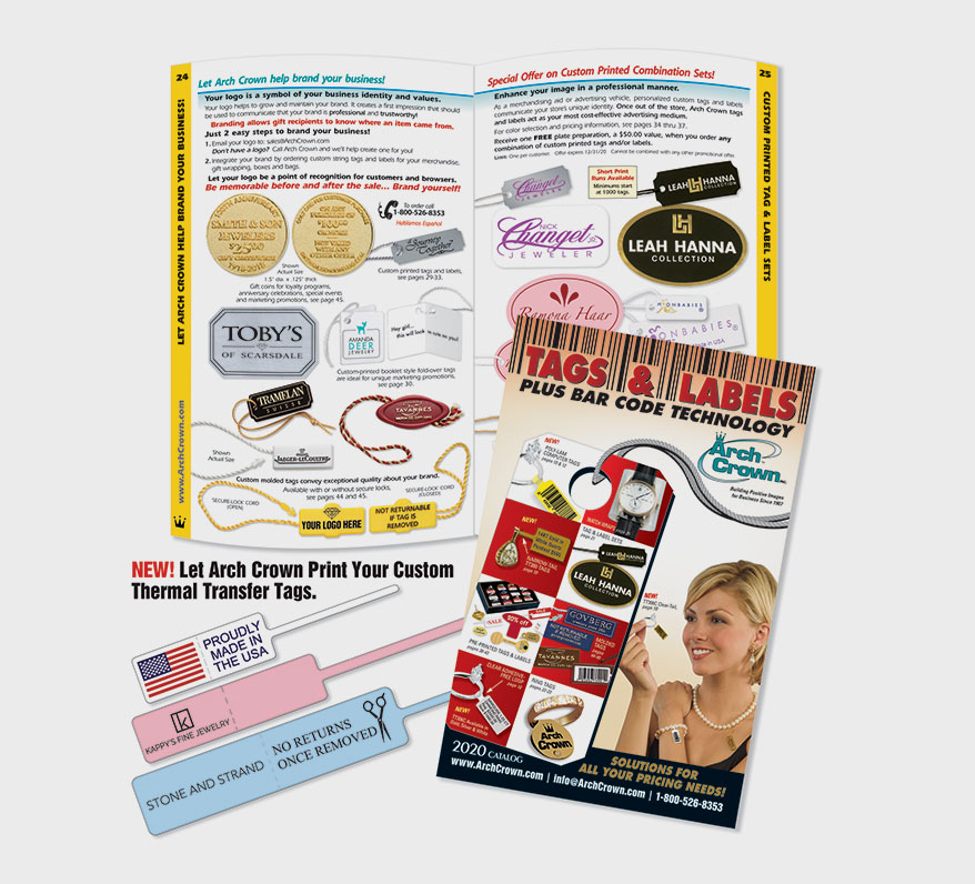 Arch Crown's 2020 Tag & Label Plus Bar Code Technology Catalog