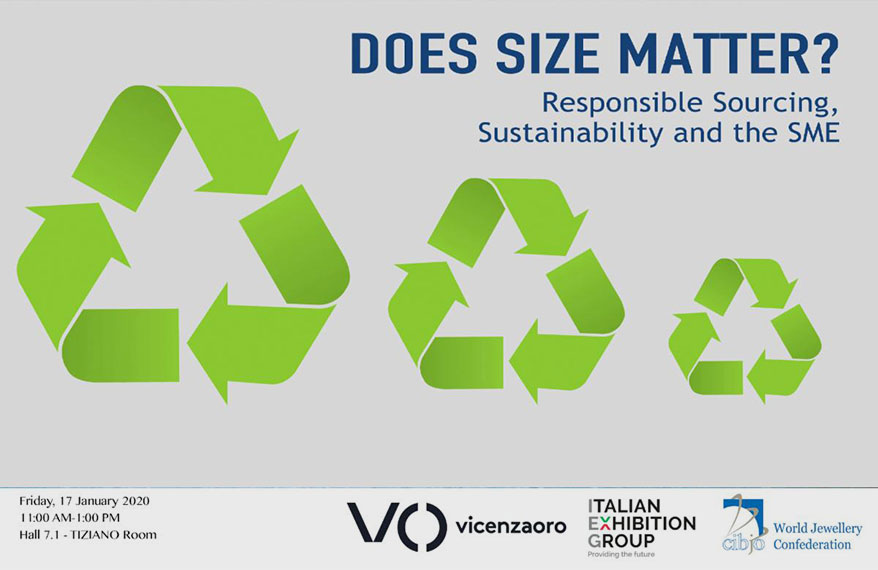 CIBJO-IEG Seminar at Vicenzaoro January Show to Focus on the Challenges Faced By SMEs in Meeting Social Responsibility and Sustainability Requirements
