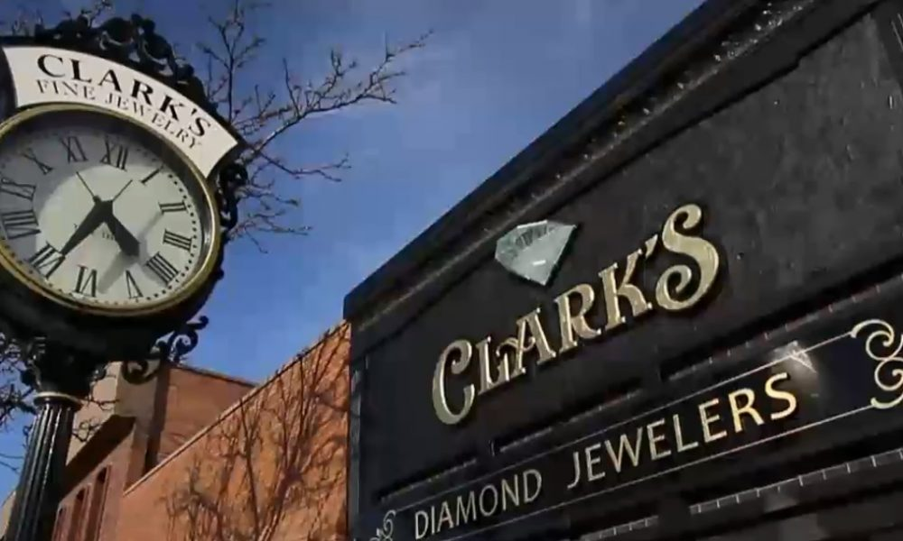 Clarks Jewelry Snow Promotion