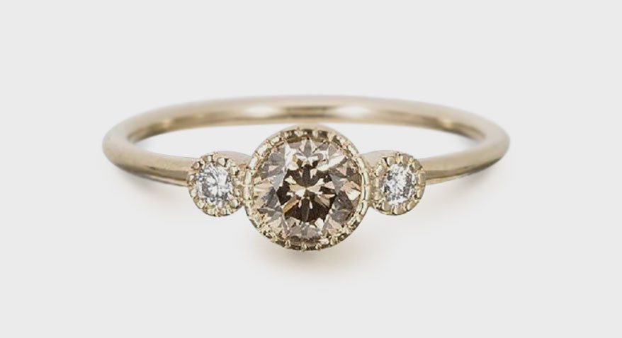 Small and Intimate Rings Are Trending For Brides-to-Be
