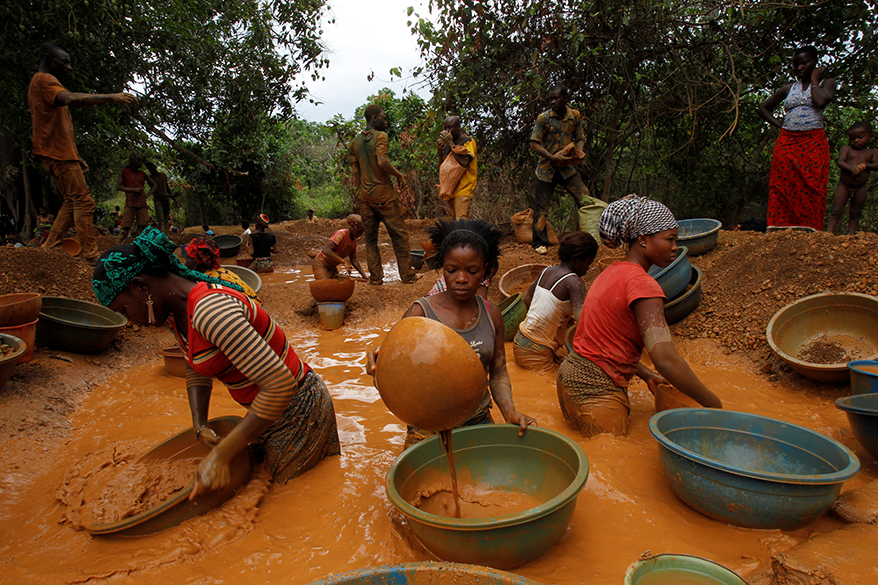 New Tech May End Horror of Mercury Use in Artisanal Gold Mining