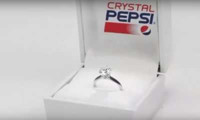 Pepsi Launches Engagement Ring Made with Diamond, Platinum and Crystal Pepsi (Video)