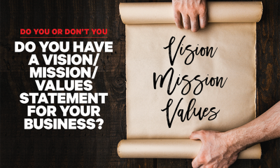 Should You Have a Vision/Mission/Values Statement for Your Business?
